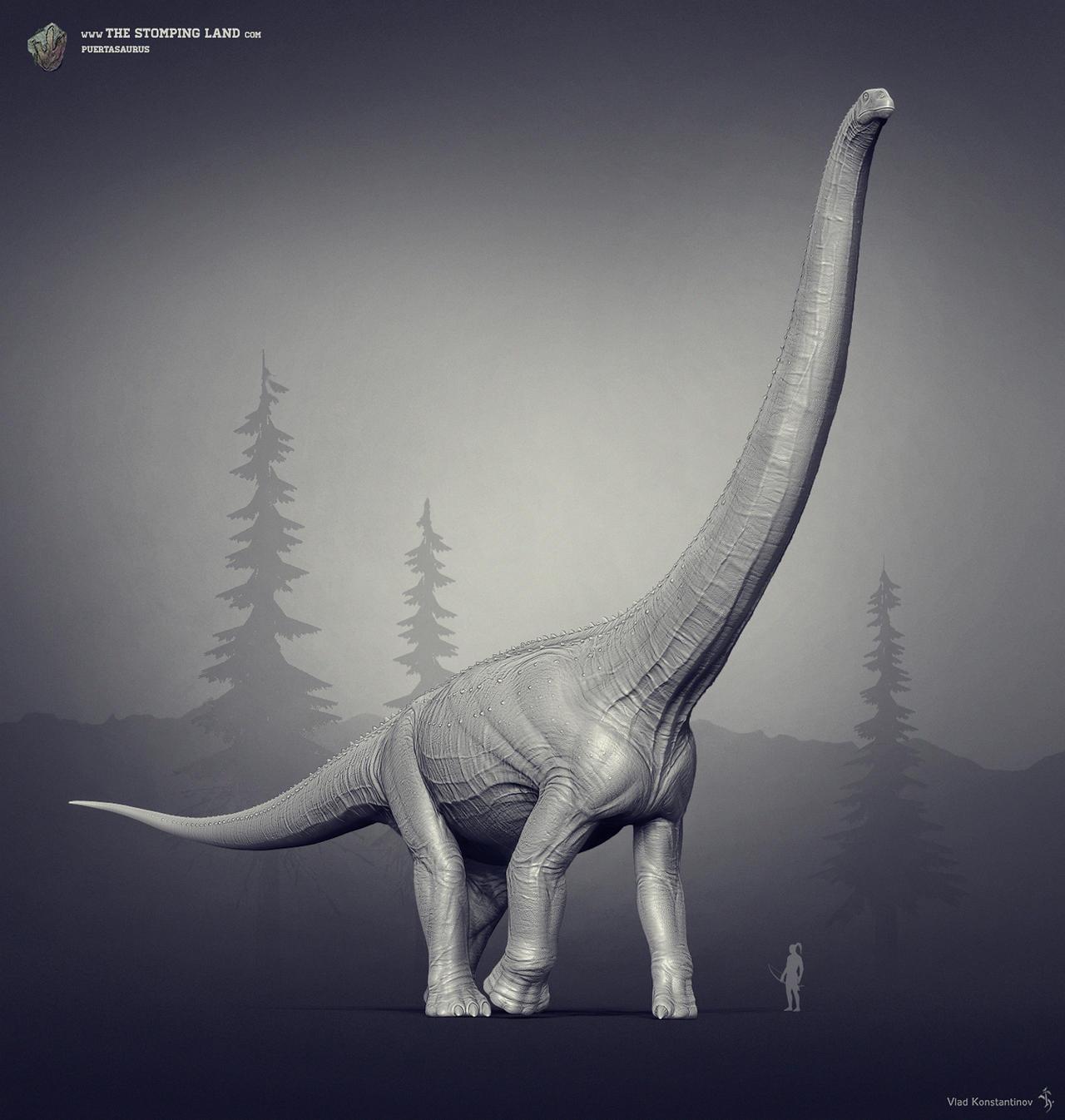 Puertasaurus. The Stomping Land. 02