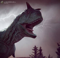 Carnotaurus. The Stomping Land. 01 by Swordlord3d