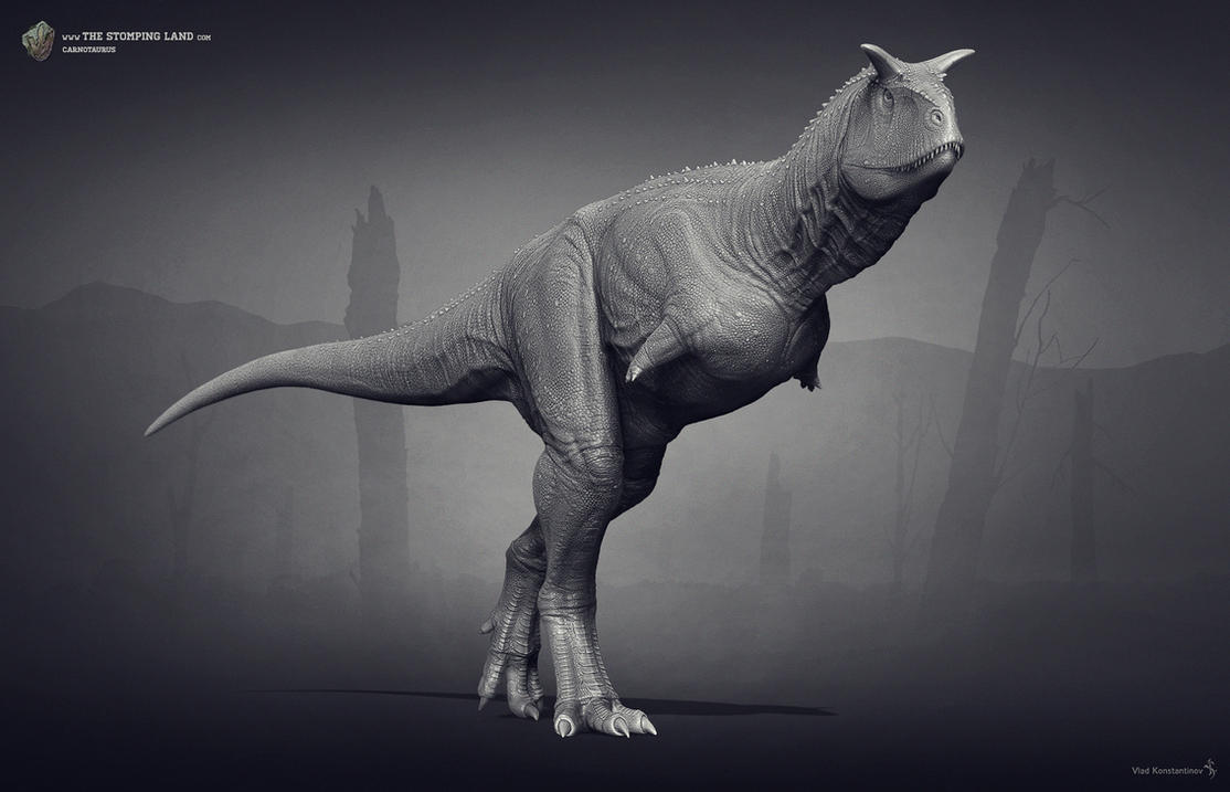 Carnotaurus. The Stomping Land. 02 by Swordlord3d