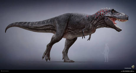 Tyrannosaurus. The Stomping Land. 02
