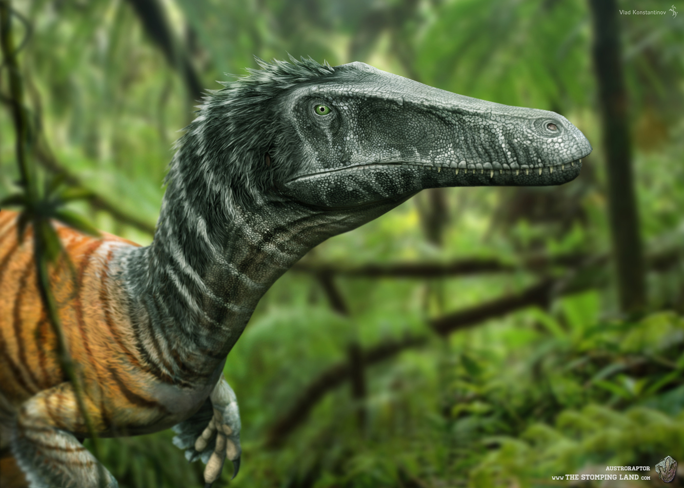 Austroraptor. The Stomping Land. 03 by Swordlord3d