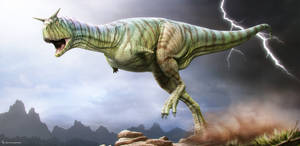 Carnotaurus. ROM