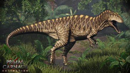 Acrocanthosaurus. Primal Carnage: Extinction