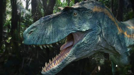 Albertosaurus. Dino Dana.1 by Swordlord3d