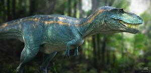 Albertosaurus. Dino Dana.2
