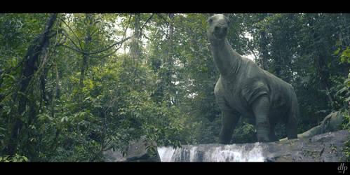Paraceratherium. Mega Beasts. 1