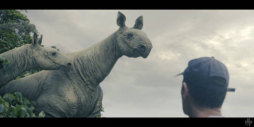 Paraceratherium. Mega Beasts. 2