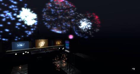 InWorldz 009 Happy New Year 2017 Fireworks by rigtorok