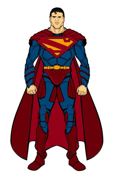 Superman (Kryptonian Armour) by THExXxCREEPER on DeviantArt