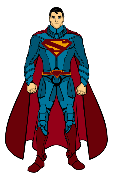 Superman 2nd Kryptonian Armour by THExXxCREEPER on deviantART