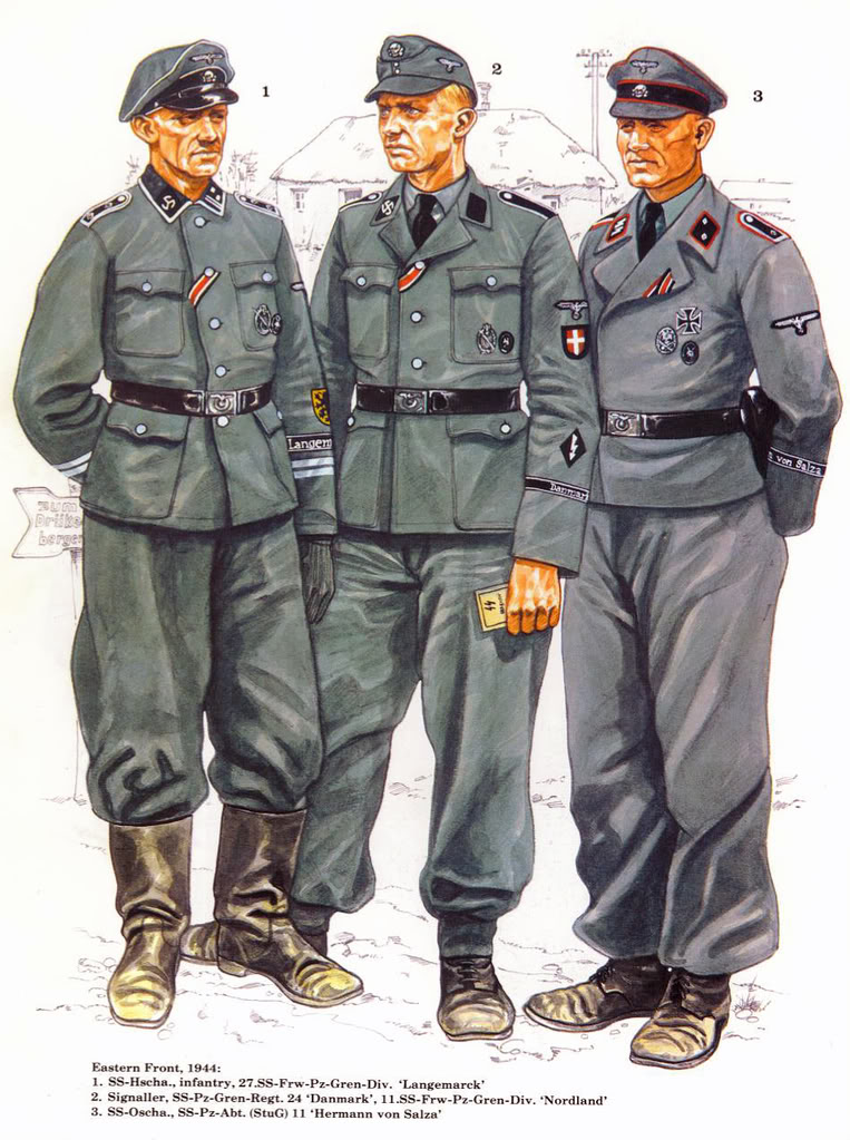 WaffenSS Officers uniforms By  Waffen Ss Officer Uniform