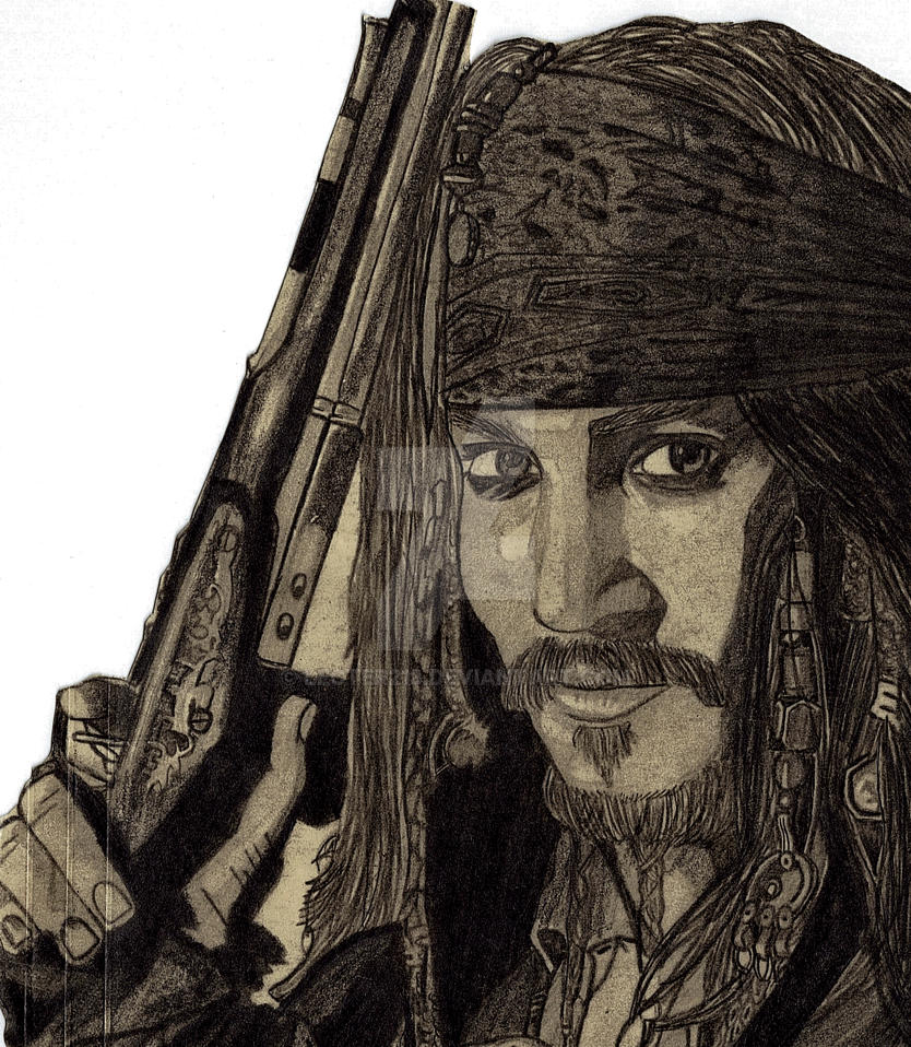 Captain Jack Sparrow 2 by Lecter213