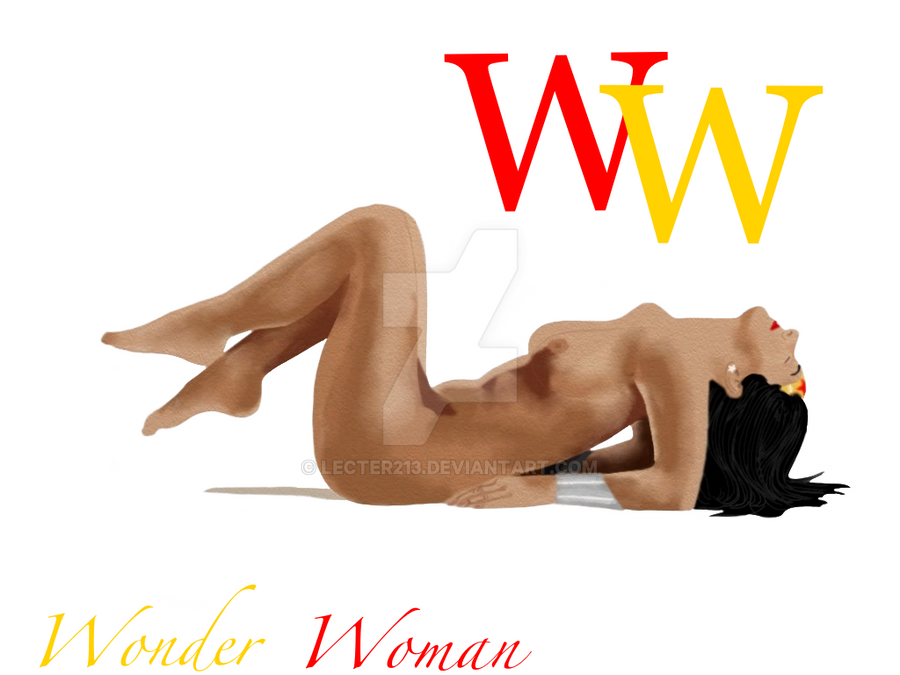 Wonder Woman Nude by Lecter213