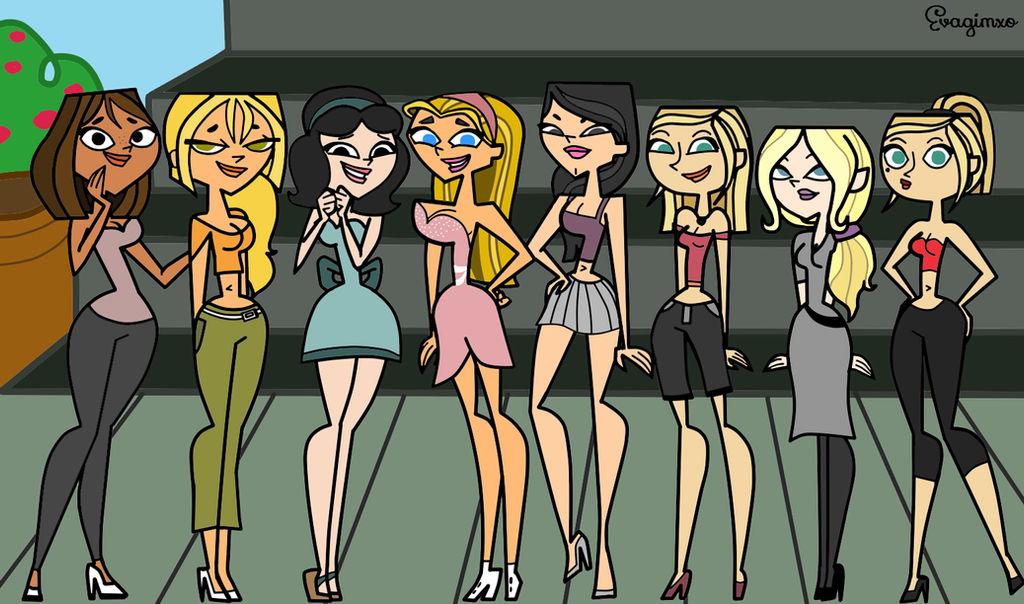 total drama girls