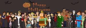 Total Drama Ridonculous Race - Happy Halloween!