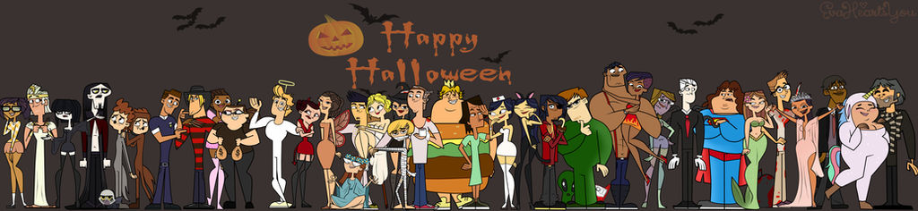 Total Drama Ridonculous Race - Happy Halloween!