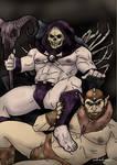 Skeletor and Beastman.