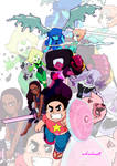 Steven Universe and the Crystal Gems ver.2
