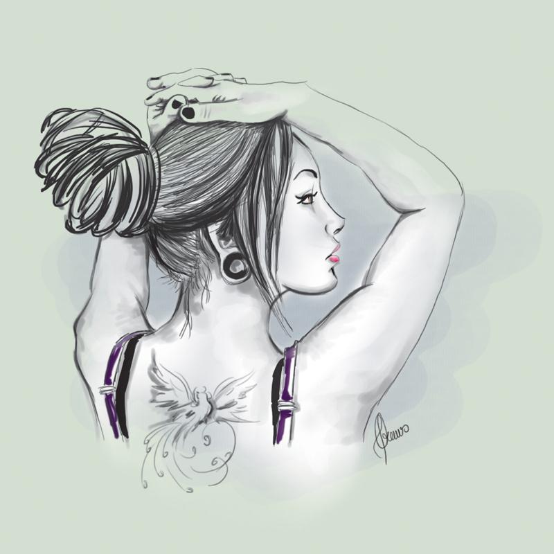 Woman Sketch by cdrews