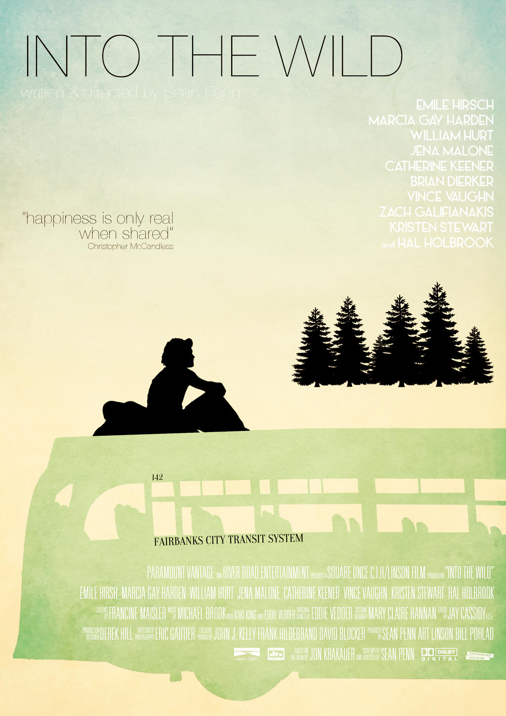 Into The Wild - Retro Movie Poster by Muska23 on DeviantArt