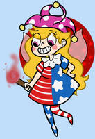 Clownpiece VS The Forces of Gensokyo by MirmirArt