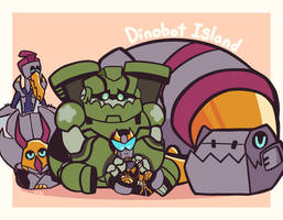 Dinobot Island Family
