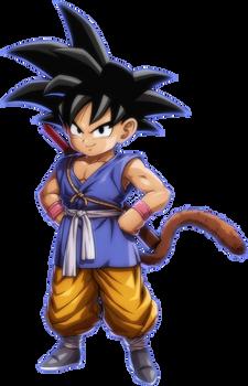 Kid Goku (GT) DBFZ render by Godzilla2000JR