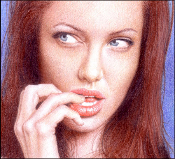 Angelina Jolie 2 by ThomasMMadsen