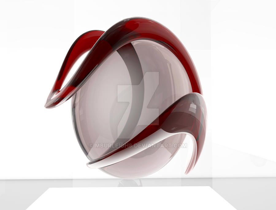 Glass And Acrylic Sculpture By Mburleigh8 On Deviantart