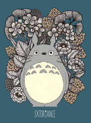 Totoro by Extoriance by extoriance