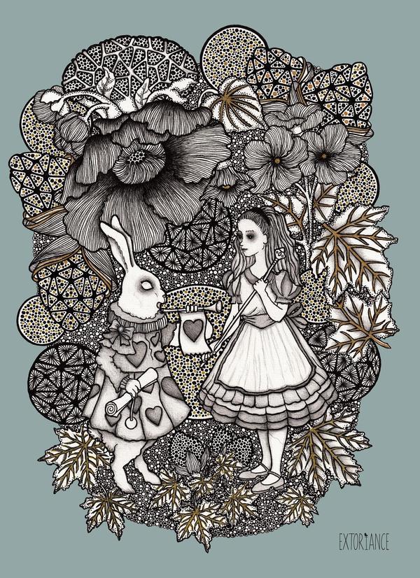 Dark Alice - Something went wrong in Wonderland by extoriance