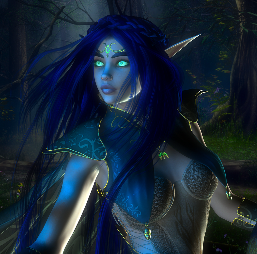 The Archdruidess of Sylvanaar by Savaena