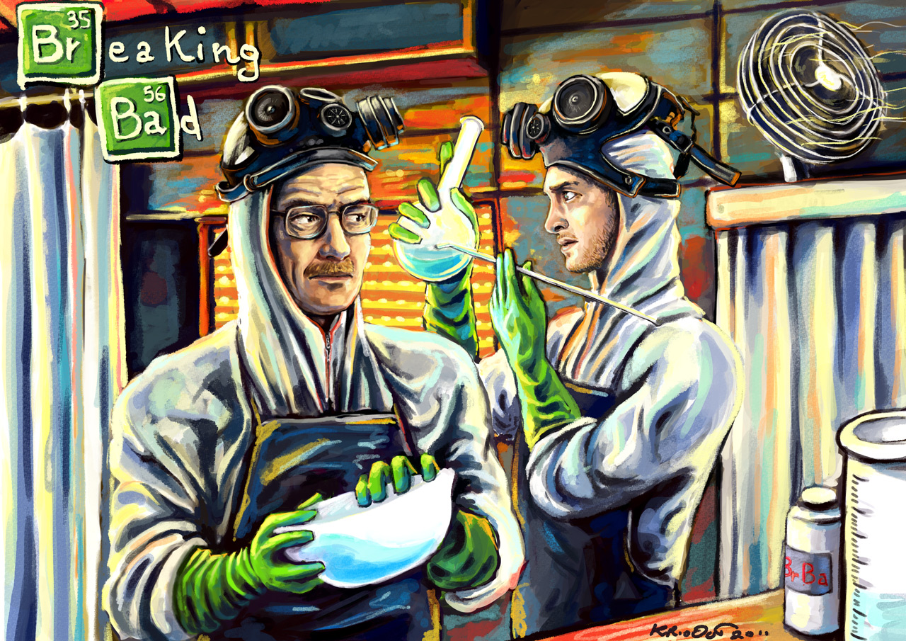 BREAKING BAD by krio0ut
