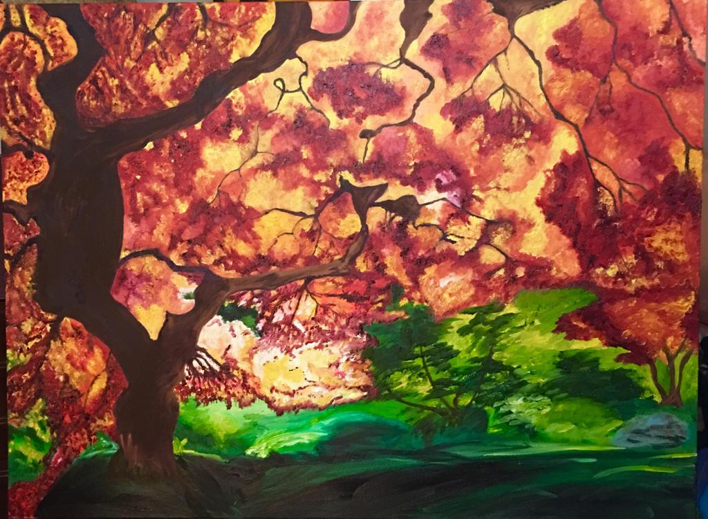 Fall tree by Icebrew99