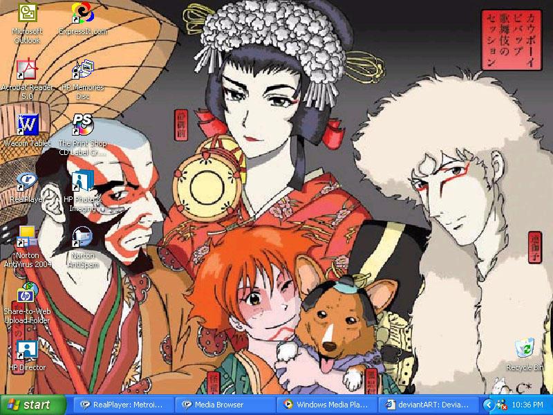 Kabuki Bebop desktop by zargon-yokoshima