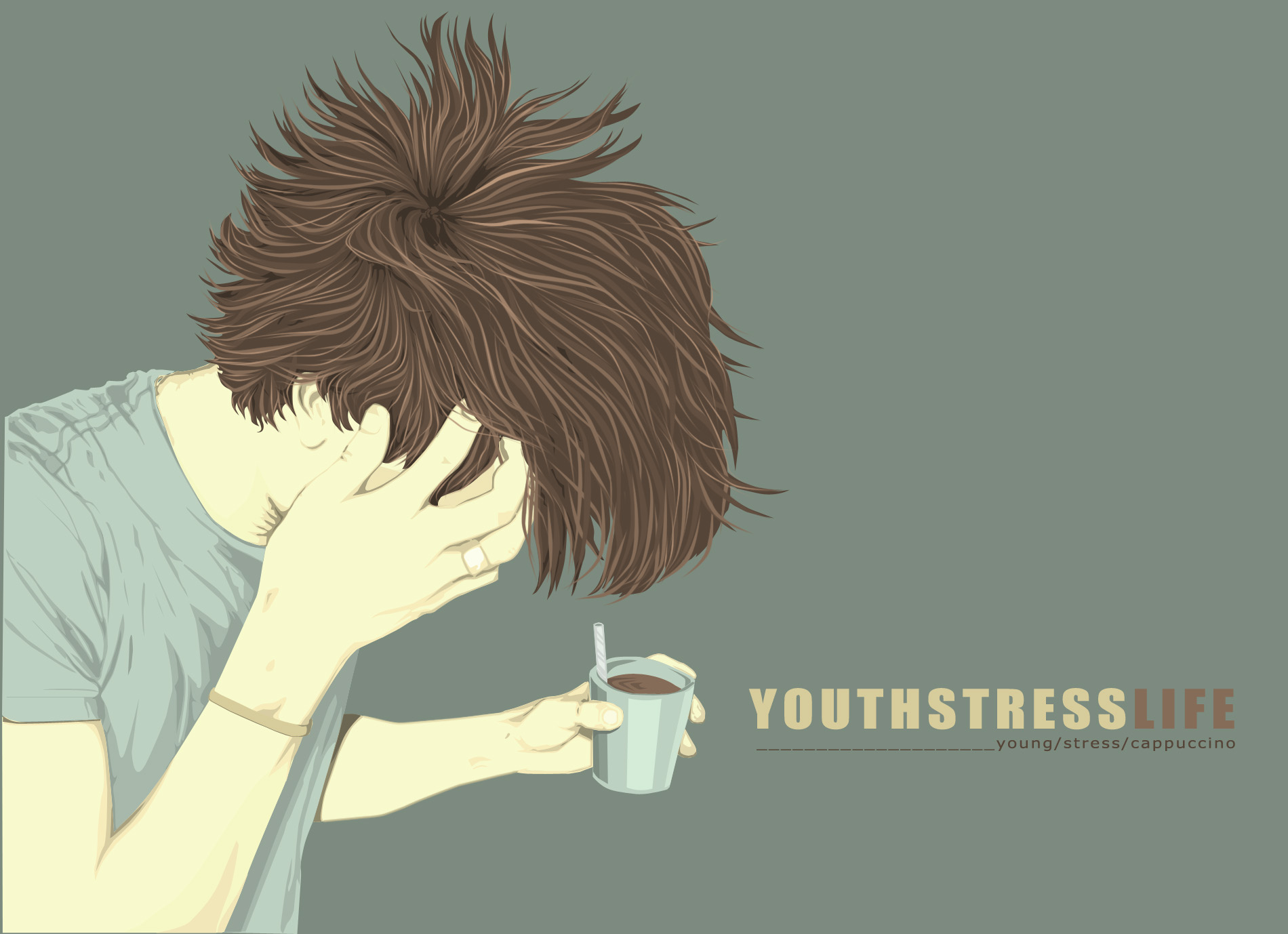 Youth n Stress by ghiand