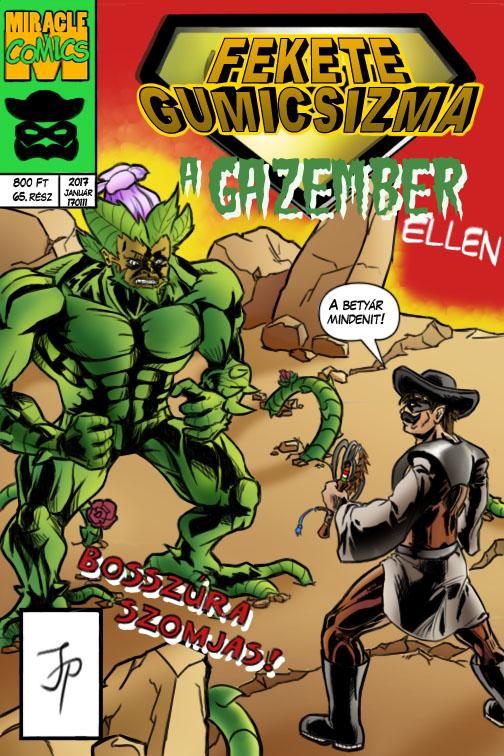 Black Wellington comic cover (Hungarian version) by Kennardion