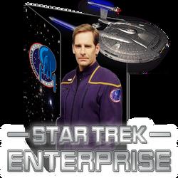 Star Trek Enterprise by alphadog1982