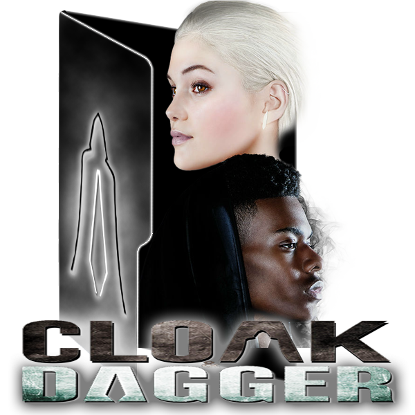 Marvels Cloak and Dagger by alphadog1982