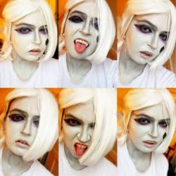 Ghirahim Makeup test by SimonaCosplay