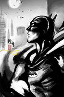 The Batman by zhenyue