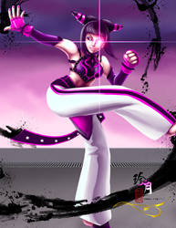 Street Fighter Girls - Juri by zhenyue