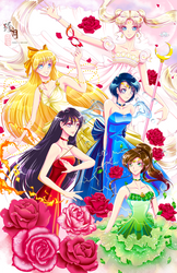 Sailor Moon - In the name of love and justice! by zhenyue