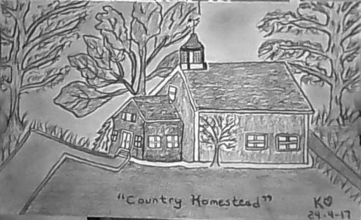Country Homestead by Keithzdarkside