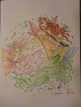 Fairy Dance coloring
