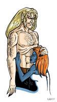 X-men: Sabretooth + Mystique