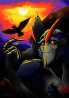 Starscream prime last flight by Logna