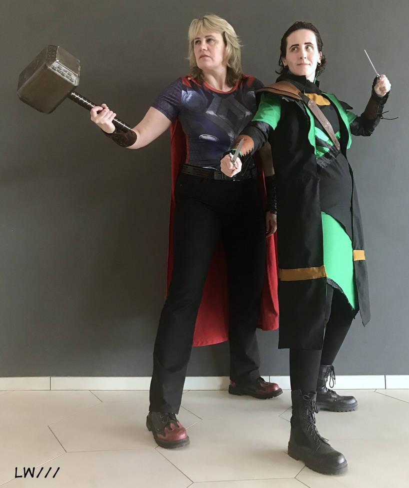 Thor and Loki cosplay 12.06.18 - 7