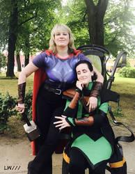 Thor and Loki cosplay 12.06.18 - 9