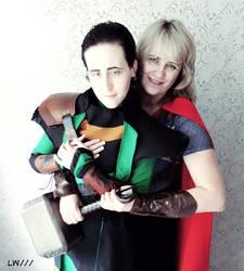 Thor and Loki cosplay 12.06.18 - 11